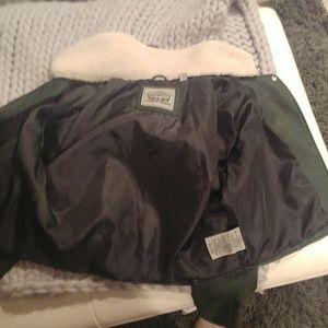 Levi's faux leather motorcycle jacket